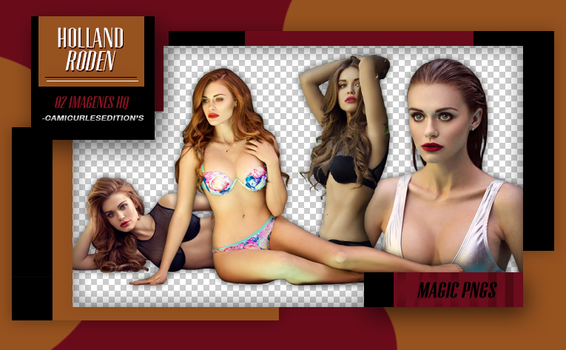 PACK PNG 212| HOLLAND RODEN by MAGIC-PNGS