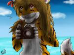 striped photographer by RADYGA-ST