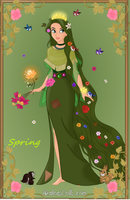 The four seasons - Spring by starthechameleon