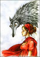 Little red riding hood by Szacsi