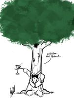 Feb2012SM-Secret Agent Tree by AndrewDickman