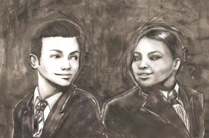 Kurt and Mercedes by ShadowOfSorrows