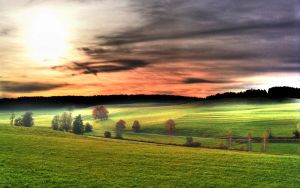 Endless Fields HDR by evrengunturkun