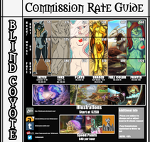 Blind Coyote's Commission Rate Guide by BlindCoyote