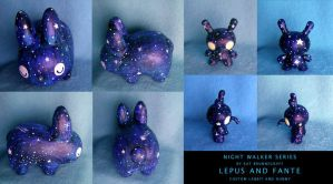 Lepus and Fante Custom Toys by fuish