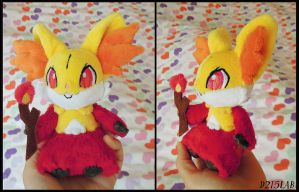Delphox Plush by d215lab