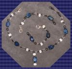 Solar Travellers Blue Jasper Set 2 by Windthin