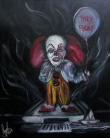 Pennywise in Mini size by AmandaPainter87