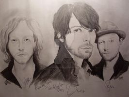 Biffy Clyro Signed by for3veryours
