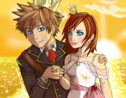 Horizonline Wedding by VanillaKeyblade