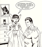 TLIID Super-dickery Lois Lane The Bat-Woman by Nick-Perks