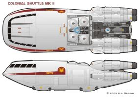 Colonial Shuttle by BJ-O23