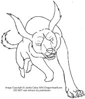 New Ginga LineArt 7 by DragonHeartLuver