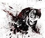 tiger abstract by FCH-T2A3NWh
