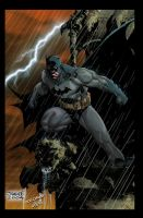 Batman01 by Jim Lee color by JoseRaBB