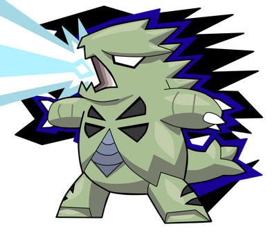 Tyranitar by turb0s0ic333