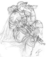 Raven guard Scout by Auzzymo