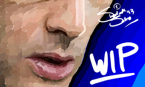 10th Doctor Re-Do WIP/Preview by Chrisily