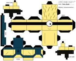 Minion No.1 cubeecraft by melopruppo