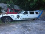 Long White Limo (In A Back Lot) by DoctorMopar