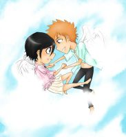 Ichiruki - Between the Clouds by Littlegrazygirl