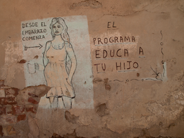 Wall With a Message in Santiago de Cuba, Jan. by vanfoto