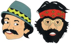 Cheech and Chong by DolfD