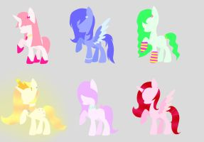 Rainbow Adopts [Open 1/6] by MelodySArtist