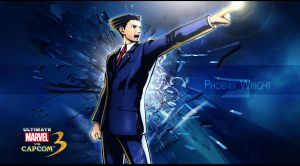 Ultimate marvel vs capcom 3 Phoenix Wright by KaboXx