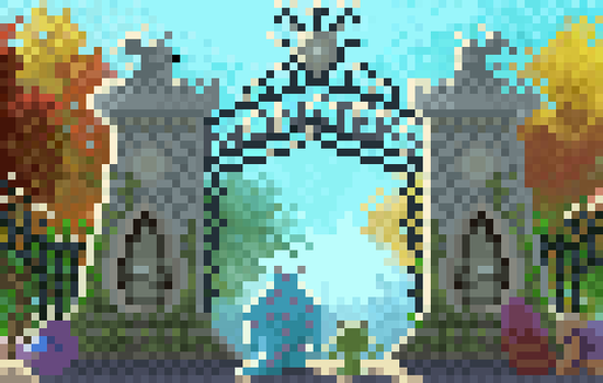Monster University - Pixel Version by Utitake