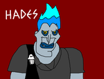 Hades from Disney's Hercules by MikeEddyAdmirer89
