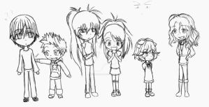 MR Chibi's by SpiralNinja05