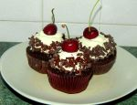 Black Forest Cupcakes by Diotima96