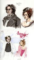 Sweeney Sketches by AnnaCStansfield