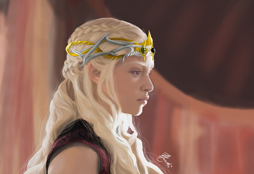 Daenerys Targaryen Queen of Meereen by Zzacchi