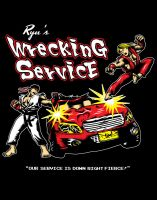 Ryu's Wrecking Service by ninjaink