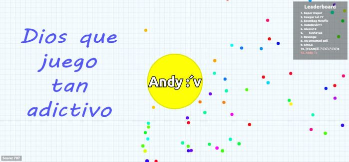 Agar.io by Andy1306