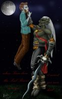 Kain and Edward by AirenKain