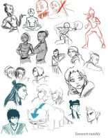 ATLA sketch dump by compoundbreadd