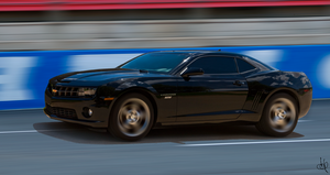 My Camaro 2SS At the Track by Steve38