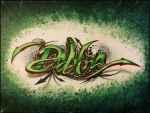 Sharpie Graffiti Lettering (gift for a friend) by PinstripeChris
