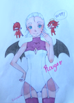 Rouge the Bat by PinkeyApple