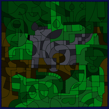 Rain up a Tree - Abstract Thingy by HotR-Official