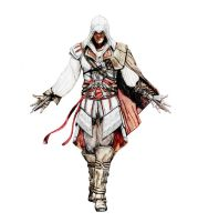 Ezio Auditore Special Color by Andrex91