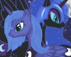 Good and evil by Groovebird