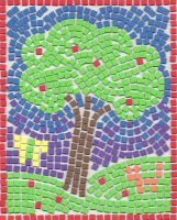 Tree Mosaic by kellyyllek2