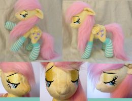 Fluttershy plushie (poseable) by Epicrainbowcrafts