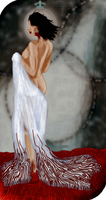Therese Trevelyan Tarot Card by Lainpinky131