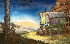 Gypsy Caravan by frivolousdistinction