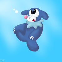 Popplio by thisisspartacat1230
